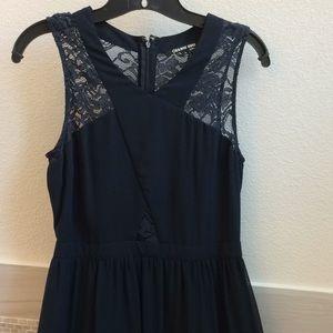 Gianni Bini Navy Maxi Dress